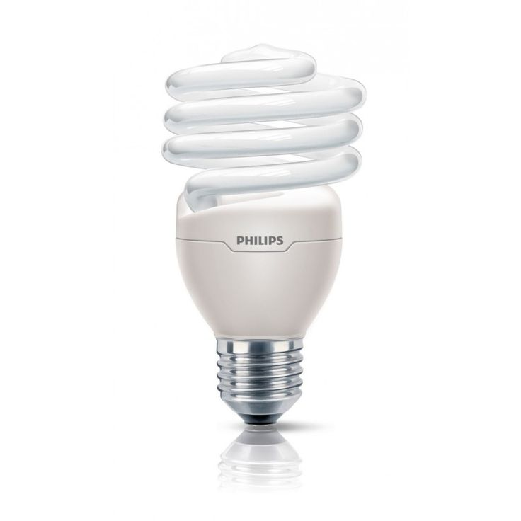 Awesome  Energiesparlampen Philips Philips Tornado Spiralf rmige Energiesparlampe T E Wei A K hles Tageslicht