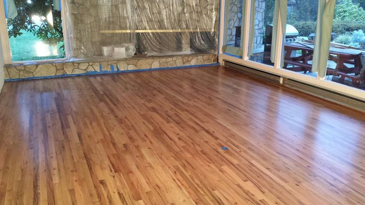 This was an older Red Oak floor that was brought back to life by: Mid Valley Hardwood LLC. Battle Ground, Wa 98604