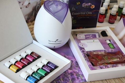 Essential oils cough drops, deodorant etc