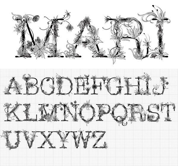 Mari typeface by Doug Alves