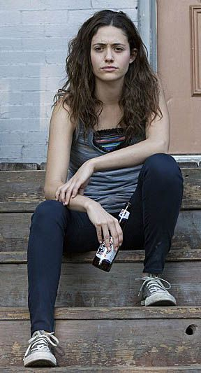 Emmy Rossum as Fiona Gallagher in Shameless SA