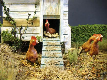 how to: landscaping a chicken house