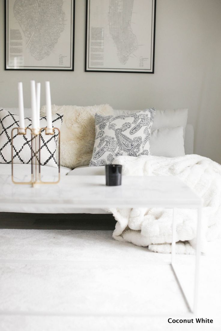 Be&LIv Quartet candelabra sits beautifully in this simple neutral decor. Gold can add a sophisticated touch if used sparingly and this looks chic and stylish... available form www.cloudberryliving.co.uk