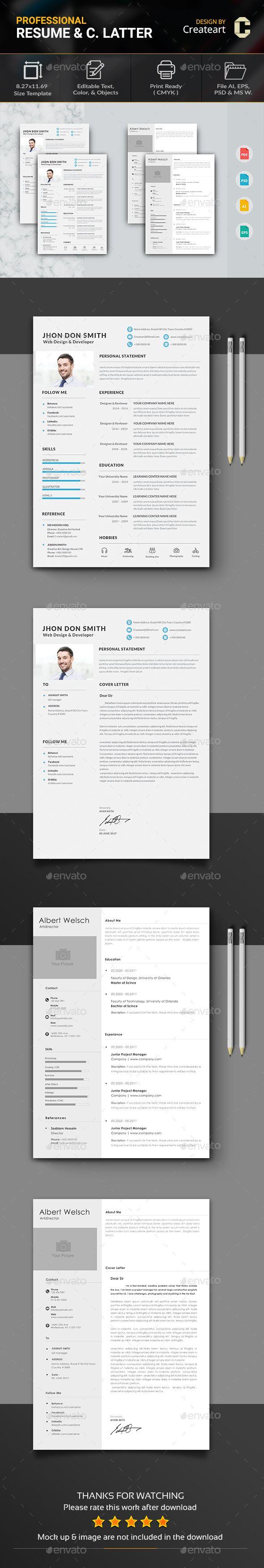 Simple Resume Exampleprin 299 Best Resume Cv Images On Pinterest  Resume Templates Creative .