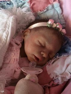 Full Bodied Silicone Reborn Baby Girl Doll | eBay                                                                                                                                                     More