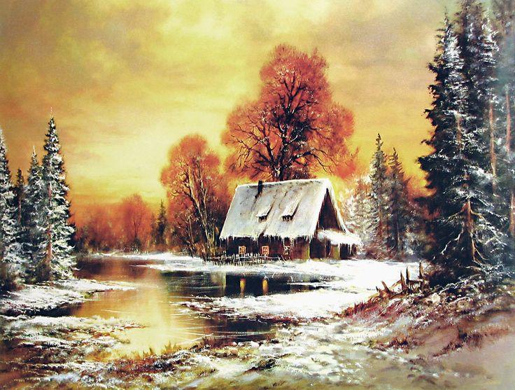 A Melting Winter (Reprint on Paper - Unframed)