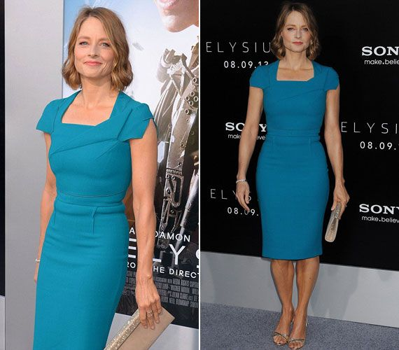 Jodie Foster az Elysium című film premierjén  femina.hu