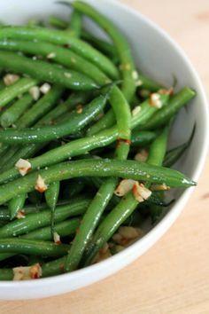 Spicy Garlic Green Beans @M.'s Gaby Cooking - Gaby Dalkin