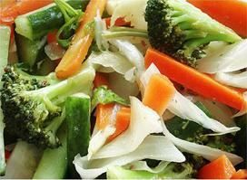 Mixed Vegetable:Stir-fried assorted vegetable from Pattaya Bay Restaurant in Los Angeles #Food #Vegetable #Restaurant forked.com