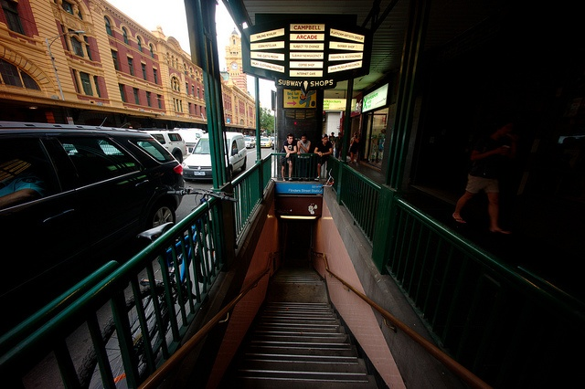 Degraves street subway entrance.