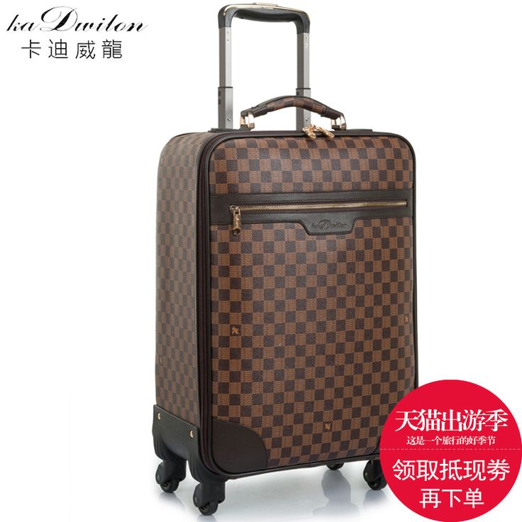 Koper tas travel roda troli bagasi yang universal laki-laki luggage16 18 20 22 kotak 24 komersial, FGF