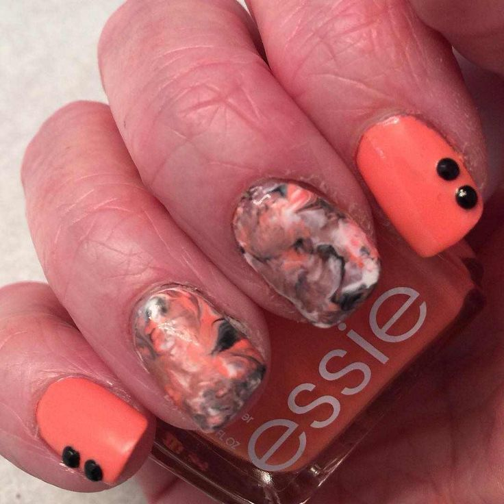 peach nail art designs and ideas 2016 2017 - style you 7