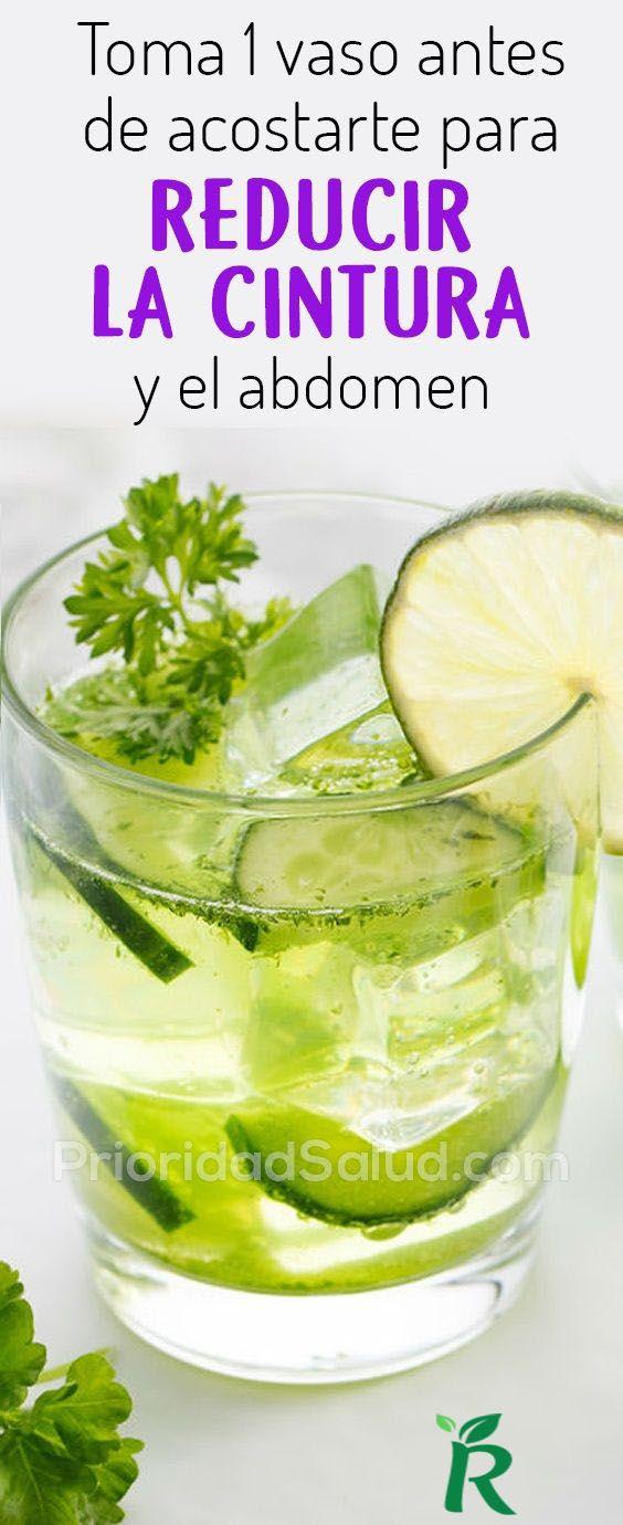 Reduce tu cintura de 10cm en solo 4 días con esta bebida natural.