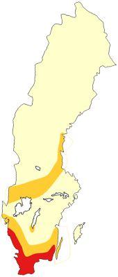 Kartprognos /  Pollenriskprognos