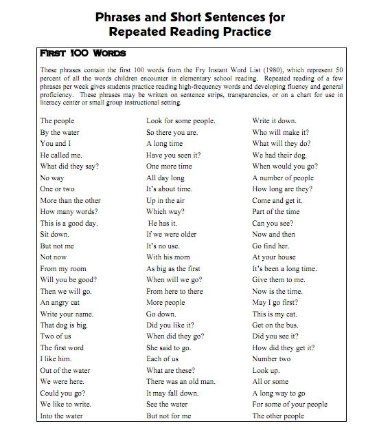 Printables Sentence Fluency Worksheets 1000 ideas about fluency practice on pinterest nonsense words reading and activities