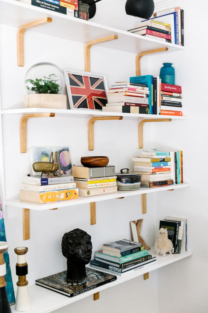 best 25+ wall mounted bookshelves ideas only on pinterest | wall