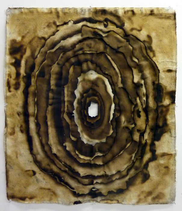 Hein Koh: Form 5 (Burnt Canvas)