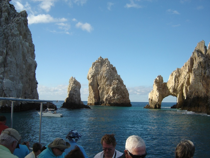 Rock formations at Cabo - Nov. 11 - last port on our Panama Cruise