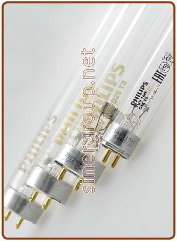 Lampadine UV-C Philips da 4W. a 55W.