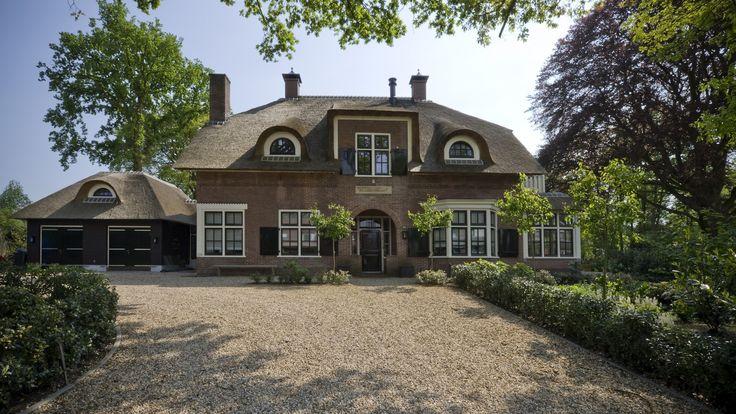 Villa Laren   Achtergevel