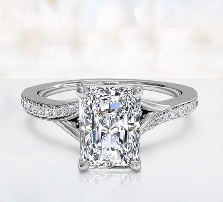 Radiant Cut Engagement Rings