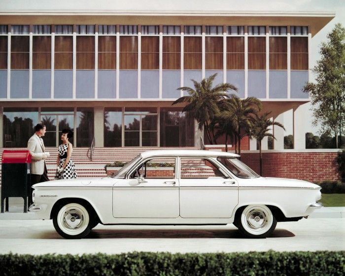 The Chevrolet Corvair-- Ralph Nader testified before Congress that it was unsafe at any speed...