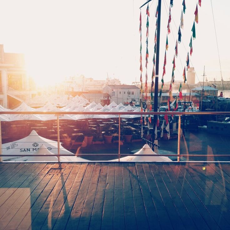 Nothing greater than a sunrise in the waterfront
