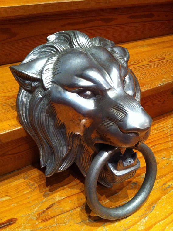 Gothic Door Knocker Beast Lion Gargoyle Castle Door Knocker 18 Mit Bildern Turbeschlage Fenster Und Turen