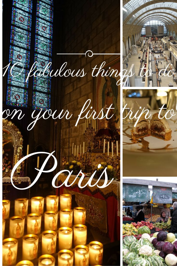 If you are planning your first trip to Paris, here are the 10 best things to do to enjoy Paris - with a twist!