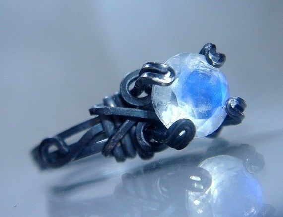 Can't decide whether I like the settings on this etsy seller's rings...or whether they're too cluttered.