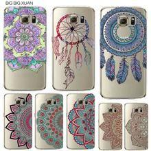 Floral Paisley Flower Mandala Henna Phone Case For Samsung Galaxy S5 S6 S6Edge S6edgeplus S7 S7edge Clear Silicon Soft Fundas  #Mandala #Floral #PhoneCover #Samsung #Galaxy #S5 #S6 #BuyOnline #MandalaMagikDeals