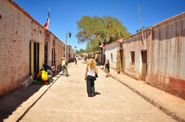 Rue de San Pedro de Atacama