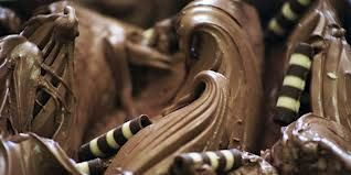 Romantici riccioli di cioccolato...