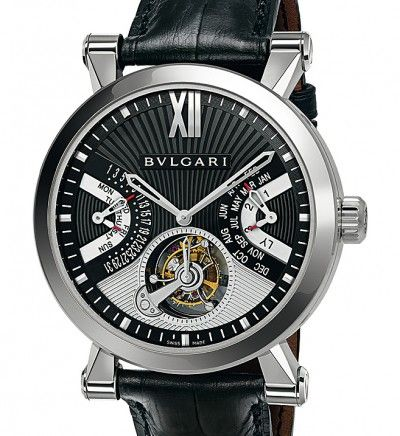 Sotirio Bulgari Tourbillon Multicomplication Reference: SB43BPLTBPC
