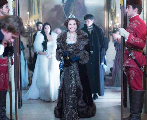 Maria Leopoldina (Leticia Collin) Novo Mundo vestido