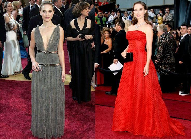 Celebrity na Oscarech tehdy a nyní - Natalie Portman