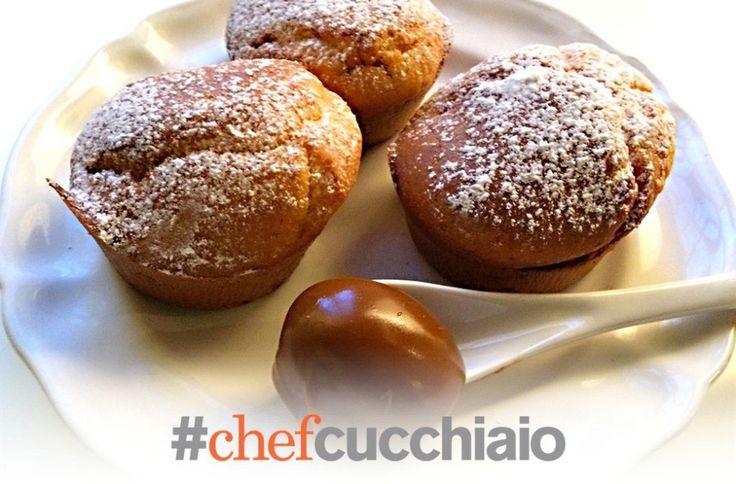 Il dulce del leche viene dall'Argentina ma si mangia in tutto il Sud America e questi sono dei muffins buonissimi!