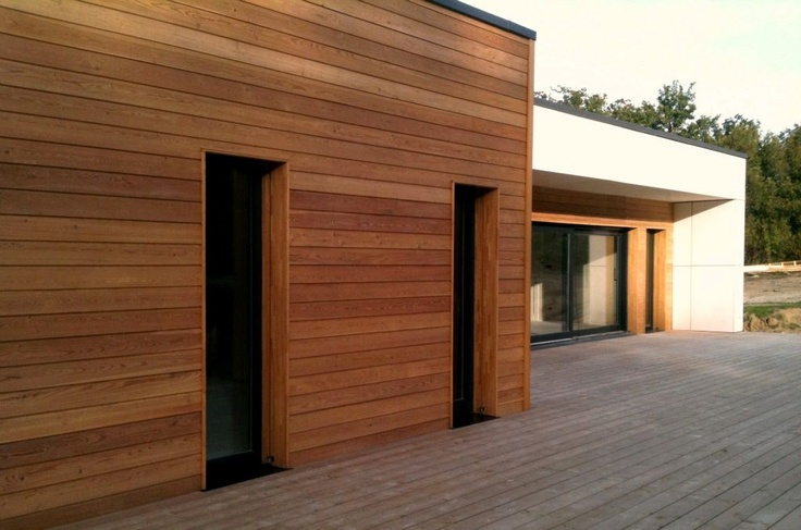 Maisons bois cologiques de qualit maison en bois for Sustainable wood siding