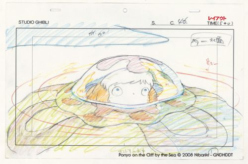 Studio Ghibli Layout Designs Ponyo