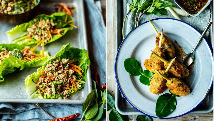 Lag thailandsk gatemat hjemme på kjøkkenet