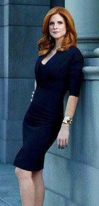 USA's Suits star Sarah Rafferty aka Donna