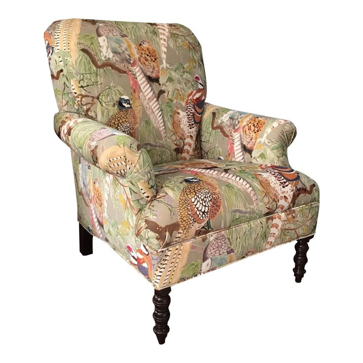 Mulberry Home Gp & J Baker Game Birds Kravet Armchair For ...