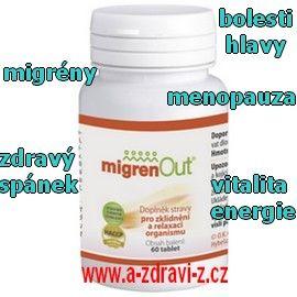- nový český přírodní produkt z bylinek - bolesti hlavy - migrény¨ - menopauza - menstuační problémy - vitalia a energie - zdravý spánek
