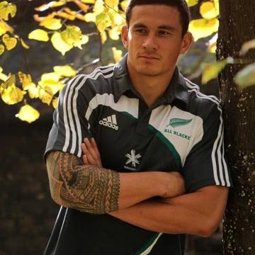 Sonny Bill Williams of the New Zealand All Blacks rugby team, super sexy!