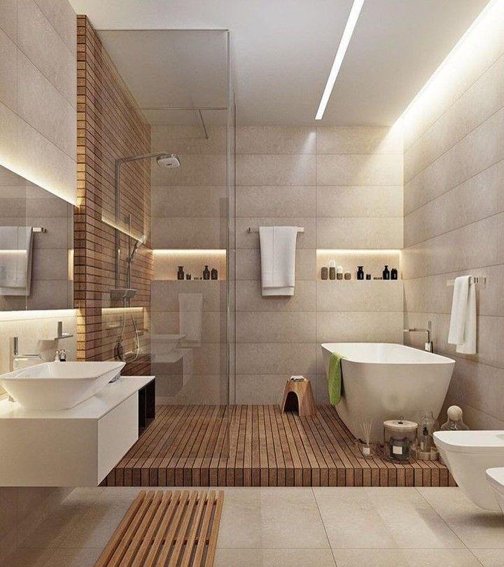 """Mi piace"": 11.3 mila, commenti: 39 - Interior Design & Architecture (@homeadore) su Instagram: ""Modern Bathroom Design  Author: ?"""