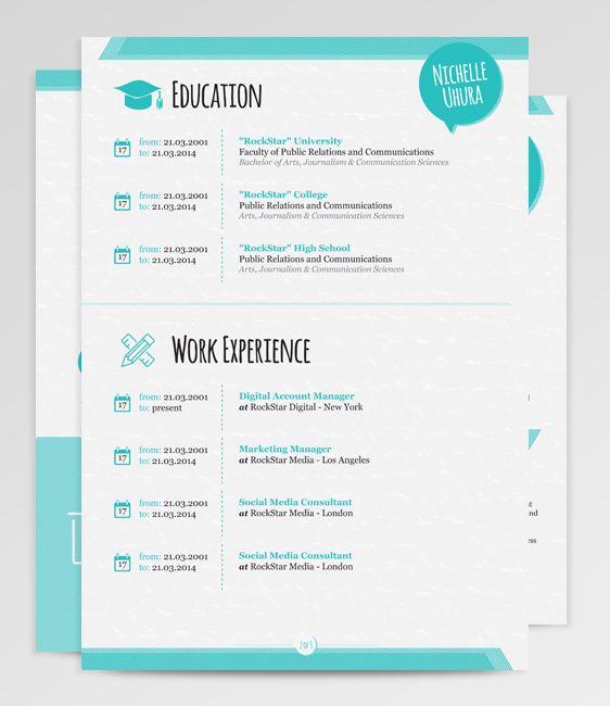 153 best resume images on pinterest cv design creative resume