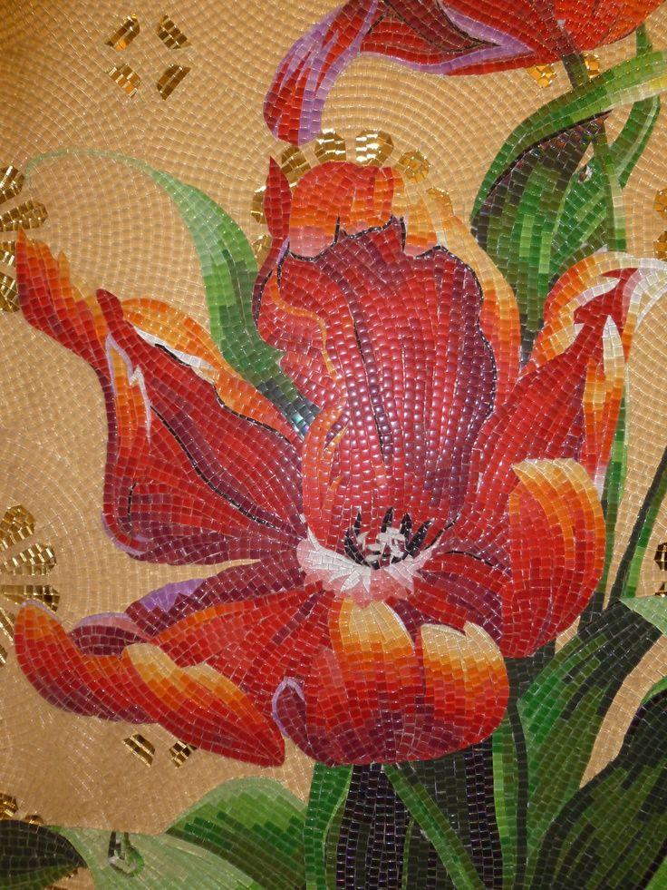 17 Best Images About Mosaic Plants Flowers On Pinterest