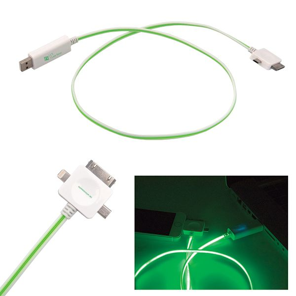 ZIP LED USB CHARGE AND SYNC CABLE