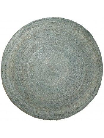 Per un ambiente caldo e accogliente, ecco un meraviglioso tappeto moderno rotondo.