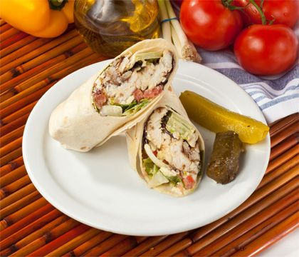Fish Wrap Traditional Dishes - Traditional Persian Dishes to Take Out, Catering